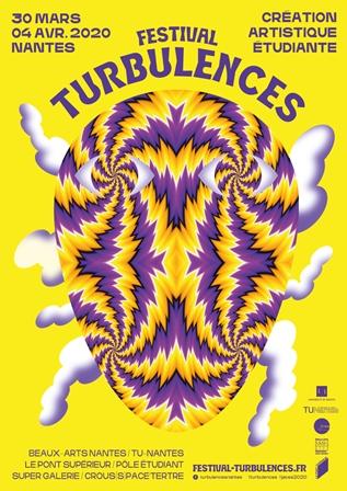 Affiche Turbulences 2020