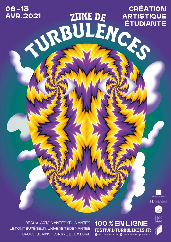 Affiche Zone de Turbulences 2021