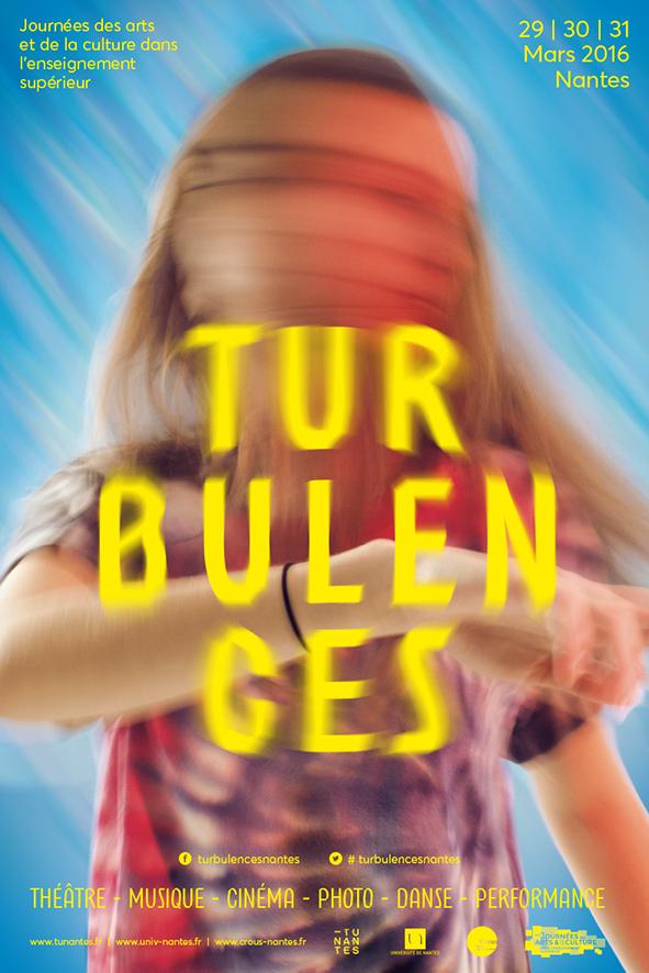 Affiche Turbulences 2016